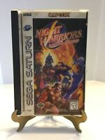 Night Warriors Darkstalkers Revenge Sega Saturn Game Complete Tested Working