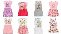 New girls licensed Disney Frozen My Little Pony Hello Kitty summer dresses bnwt