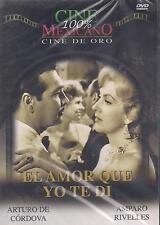 DVD - El Amor Que Yo Te Di NEW Cine Mexicano Cine De Oro FAST SHIPPING !