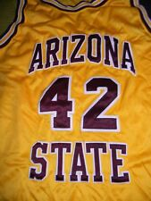 ARIZONA STATE UNIVERSITY SUN DEVILS team issued sewn basketball jersey men's L