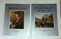 2 v.: Pittori italiani del primo '900 - A. Gentilini - Galleria Giordani Bologna