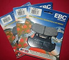 FA69/3 brake pads EBC organic 84-87 Honda GL1200 I/L/A/SEi 3 sets