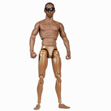 "Hot Toys 1:6 Scale Black Sport Man Action Figure Body 12"" Without Head Sculpt"