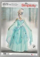 Simplicity Sewing Pattern 8629 Firefly Path Corset Cape Skirt Costumes Sz 14-22