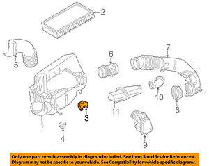MERCEDES OEM 98-03 E320 3.2L-V6 Air Intake-Mount Insulator 6040940385