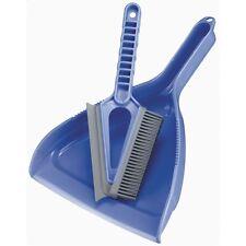 2in1 ElectroStatic Dustpan Dust Pan Brush Broom Squeegee Set Clean Dirt Pet Hair