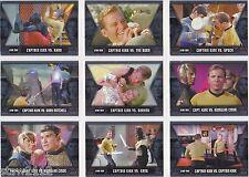 STAR TREK THE ORIGINAL SERIES HEROES & VILLIANS KIRK EPIC BATTLES SET GB1-GB9