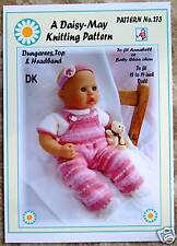 1 x  DOLLS KNITTING PATTERN *ANNABELL* BY DAISY-MAY* No.273