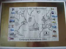 Nave Stella Polare Marina Militare annulli filatelici
