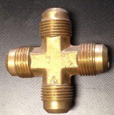 1/2 Flare Cross All Brass
