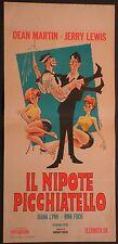 Locandina IL NIPOTE PICCHIATELLO 1956 DEAN MARTIN, JERRY LEWIS