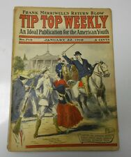1910 TIP TOP WEEKLY #719 G/VG January 22nd