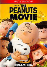 The Peanuts Movie (DVD, 2016, Includes Digital Copy) NEW!