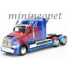 JADA 98398 TRANSFORMERS 5 OPTIMUS PRIME WESTERN STAR 5700 XE PHANTOM 1/32 BLUE