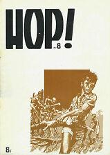 RARE EO COLLECTIF + DESSINS + REVUE HOP ! N° 8 DE 1976 SPÉCIAL PIERRE JOUBERT