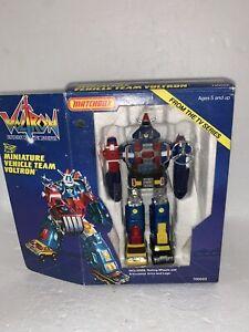 Vintage Voltron Miniature Vehicle Team Robot Toy Matchbox in Box 700002
