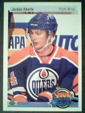 JORDAN EBERLE 10/11 UD 20th ANNIVERSARY VARIATION YOUNG GUNS ROOKIE CARD SP