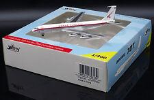 World Airways B707-300 Reg: N375WA Witty400 Scale 1:400 Diecast    WT4707002