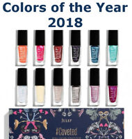 JULEP Coveted 2018 Colors of the Year Oxygen Technology Nail Polish YOU CHOOSE