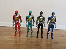 """Power Rangers Dino Charge 12"""" Bandai Action Figures (Red, Green, Black, Blue)"""