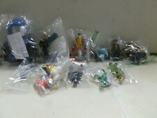 10 Assorted Action Figures with Colossus, Cobra Commander