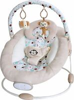 Bebe Style ComfiPlus Baby Cradling Bouncer Musical Vibration Chair Seat Rocker