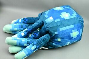 2020 Minecraft Earth Glow Squid 20in Plush Pillow