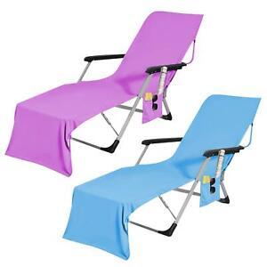 Novelty Microfibre Beach Bath Towel Sports Travel Camping Gym Lightweight Bag