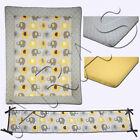 Little Bedding by NoJo Elephant Time 4Pc. w/Bumper Portable Crib Bedding Set