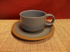 Midwinter China Bluestone Pattern Cup & Saucer Set