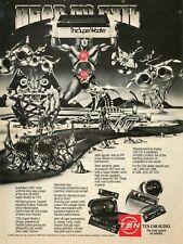 1983 Print Ad of Fujitsu TEN Car Audio The Super Woofer Hear No Evil