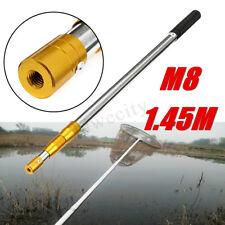 1.45m M8 Prong Harpoon Spear Gig Rod Fish Frog Salmon Barbed Fishing Tool