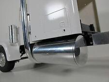 Pair 4 inch Aluminum Gas Fuel Tank Tamiya RC 1/14 King Grand Knight Hauler Man