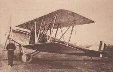 C3262) AVIAZIONE, AEREO FIAT BR PILOTATO DA BRACK - PAPA, VOSGI 1922.