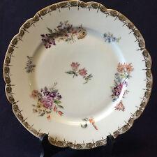 Assiette porcelaine de Paris  Louis-Philippe circa 1840 ..France
