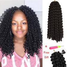 "14"" Crochet Twist Braids Jamaican Bounce Curly Hair Extensions Wand Curls Hair"