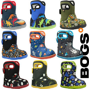 Bogs Wellies Boots Toddlers Waterproof Warm Insulated Fur Lined -10c Childrens