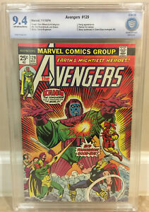 AVENGERS #129 CBCS 9.4 KANG APP RAMA-TUT CAMEO STORY CONTINUE FROM GS AVENGERS 2