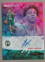 Romeo Langford 2019-20 NBA Hoops Rookie Ink Autograph Auto Celtics