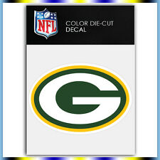 "Green Bay Packers Logo NFL Die Cut Vinyl Sticker Car Bumper Window 3""x4"""