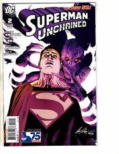 Lot Of 6 Superman Unchained DC NEW 52 Comic Books # 2 (2) 3 4 5 6 Batman TW59
