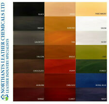 NORSOL Leather colourant, pigment paint recolour dye, Industry Std 100ml