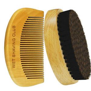 Beard Brush - Mustache Brush - Hair Brush - Boar Hair Bristle - Beard Comb