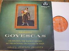 LXT 5338 Granados Goyescas / Argenta etc. O/S