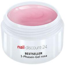 UV-Gel 1-Phasen-Gel rosa 30ml 3-in-1 Allround Versiegler Aufbau Grundierung Haft