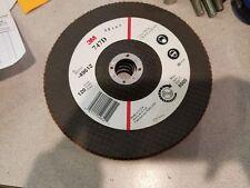 """3M 120 Grit 7""""X 7/8"""" Flap Disc 49612 lot of 5"""