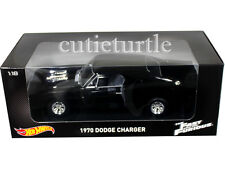 Hot Wheels 2001 The Fast & Furious Movie 1970 Dodge Charger R/T 1:18 Black CMC97