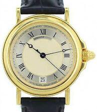 Breguet Horloger De La Marine 18k Yellow Gold Date Automatic Mens Watch
