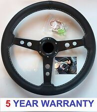 STEERING WHEEL AND QUICK RELEASE SNAP OFF BOSS KIT 48 SPLINE LAND ROVER DEFENDER