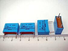 4 X CLASSIC ERO MKP 1840 0.1uF 400V METALLISED POLYPROPYLENE CAPACITOR